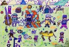 <b>儿童绘画|不要局限幼儿的想象力,自由发挥是最纯真的艺术</b>