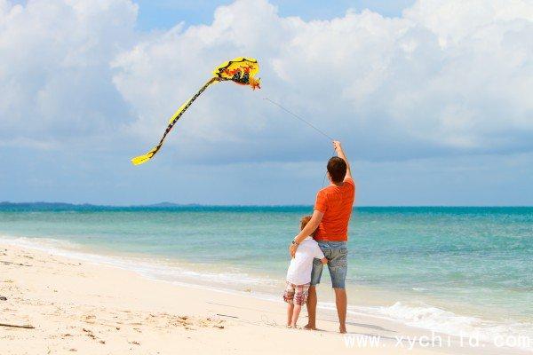 三年级看图作文放风筝的范文