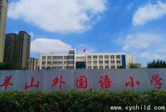 信阳羊山外国语小学2021年秋季一年级新